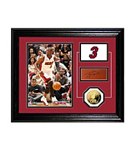 Dwyane Wade Player Pride Desktop Photo Mint by Highland Mint