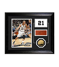 Tim Duncan Player Pride Desktop Photo Mint by Highland Mint