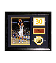 Stephen Curry Player Pride Desktop Photo Mint by Highland Mint