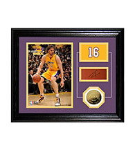 Pau Gasol Player Pride Desktop Photo Mint by Highland Mint