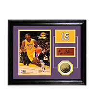 Ron Artest Player Pride Desktop Photo Mint by Highland Mint