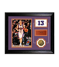 Steve Nash Player Pride Desktop Photo Mint by Highland Mint