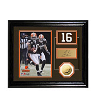 Josh Cribbs Player Pride Desktop Photo Mint by Highland Mint