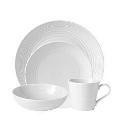 Gordon Ramsay Maze White by Royal Doulton® 4-pc. Place Setting