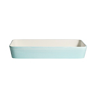Gordon Ramsay Maze Blue by Royal Doulton® Rectangular Roaster