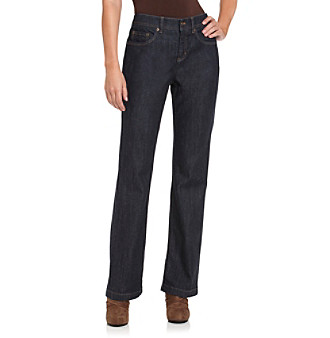Jones New York Sport® Classic Rinsed Slim Bootcut Jeans