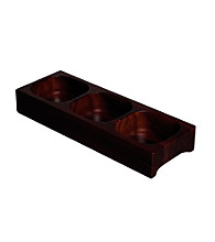 Gordon Ramsay Maze by Royal Doulton® Wood Divided Server