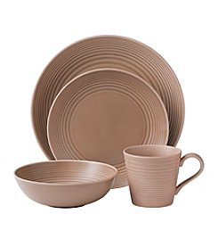 Gordon Ramsay Maze Taupe by Royal Doulton® 4-pc. Place Setting
