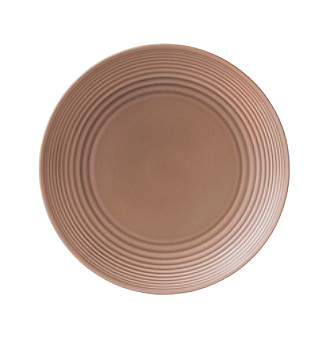 Gordon Ramsay Maze Taupe by Royal Doulton® Dinner Plate