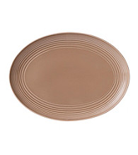 Gordon Ramsay Maze Taupe by Royal Doulton® Oval Platter