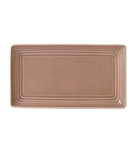Gordon Ramsay Maze Taupe by Royal Doulton® Rectangular Serving Dish