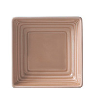 Gordon Ramsay Maze Taupe by Royal Doulton® Small Square Dish