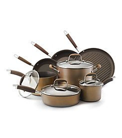 Anolon® Advanced 11-pc. Bronze Hard-Anodized Nonstick Cookware Set