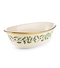 Lenox® Holiday Open Oval Vegetable Bowl