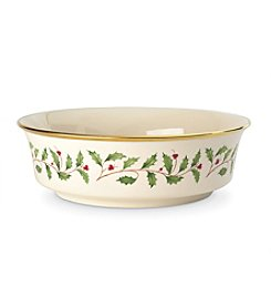 Lenox® Holiday Serving Bowl
