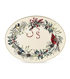 Lenox® Winter Greetings® Large Oval Platter