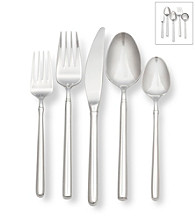 Ginkgo® Svelte 45-pc. Flatware Set