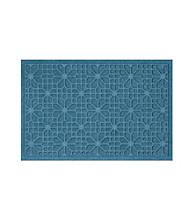 Bungalow Flooring WaterGuard Stained Glass Pattern Mat