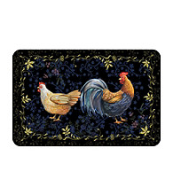 Bungalow Flooring New Wave Black Rooster Mat