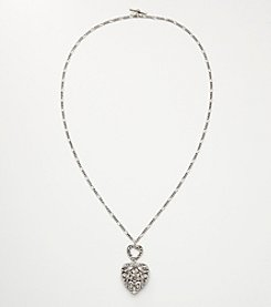 Nine West Vintage America Collection® Convertible Heart Pendant Necklace