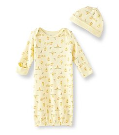 Little Me® Baby Yellow Duck Gown Set