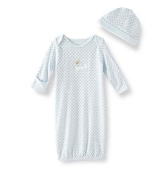 Little Me® Baby Boys' Sleepy Bear Gown - Blue