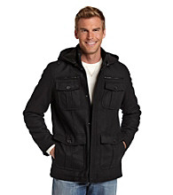 Guess Men's Four-Pocket Hooded Jacket