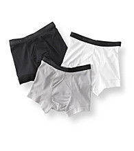 Jockey® Men's Black/Grey/White Staycool 3-Pack Boxer Brief