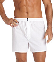 Jockey® Men's 4-Pack Full-Cut Knit Boxers - White