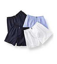 Jockey® Men's 4-Pack Full-Cut Knit Boxers - Assorted