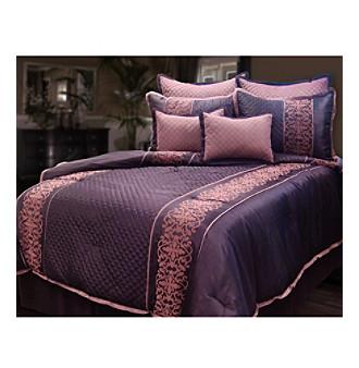 Tarah 8-pc. Comforter Set by Veratex®