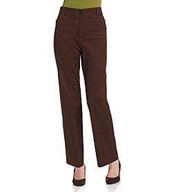 Studio Works® Petites' Stretch Twill Perfect Fit™ Pants