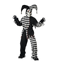 Evil Jester Child Costume