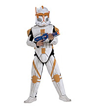 Star Wars® Animated Deluxe Clone Trooper Commander Cody Child Costume