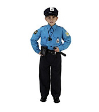 Jr. Police Officer Suit Child's Costume