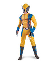 Classic Wolverine Origins Muscle-Chest Child's Costume