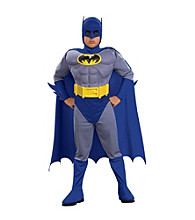 Classic Batman® Brave & Bold Muscle-Chest Toddler/Child Costume