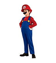 Super Mario Bros. - Mario Deluxe Child Costume