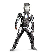 Iron Man 2 (2010) Movie - Classic War Machine Muscle-Chest Child's Costume
