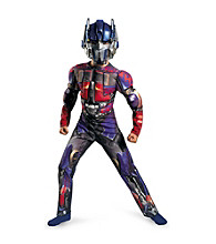 Transformers 3: Dark of the Moon Movie - Optimus Prime Muscle-Chest Child's Costume