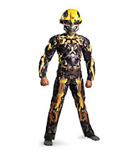 Transformers 3: Dark of the Moon Movie - Classic Bumblebee Muscle-Chest Child's Costume