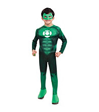 Green Lantern - Deluxe Hal Jordan Light-Up Muscle-Chest Child's Costume