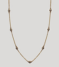 Effy® 14k Gold .21 ct. t.w. Station Diamond Necklace - Yellow Gold