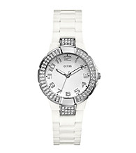 Guess White Sport Watch
