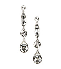 Givenchy® Dawn Crystal Linear Earrings