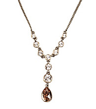 Givenchy® Dawn Brown/Goldtone Y-Necklace