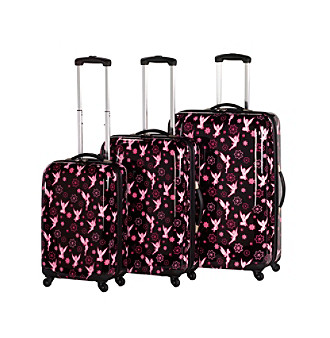Disney™ by Heys USA™ Tinker Bell Flower 3-pc. Spinner Luggage Set