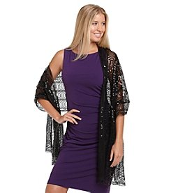 Cejon® Sequin Glam Social Wrap