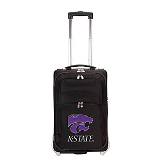 "Denco Sports Luggage Kansas State University 21"" Ballistic Nylon Carry-on"