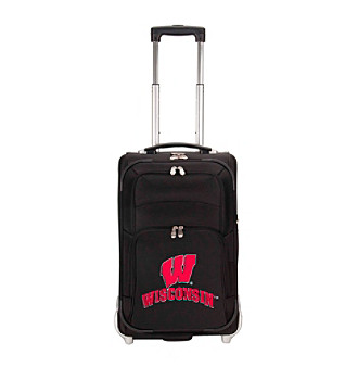 "Denco Sports Luggage University of Wisconsin 21"" Ballistic Nylon Carry-on"